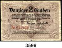 P A P I E R G E L D,D A N Z I G 2 Gulden 22.10.1923.  Ros. DAN-42.