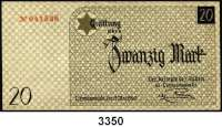 P A P I E R G E L D,L A G E R G E L D Litzmannstadt20 Mark 15.5.1940.  Ros. GET-6 a.  Grabowski Li 6 a.