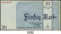 P A P I E R G E L D,L A G E R G E L D Litzmannstadt50 Mark 15.5.1940.  Ros. GET-7 a.  Grabowski Li 7 a.