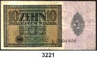 P A P I E R G E L D,Weimarer Republik 10 Billionen Mark 1.2.1924.  Serie L.  Ros. DEU-167.