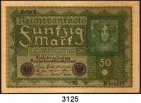 P A P I E R G E L D,Weimarer Republik 50 Mark 24.6.1919.  BQ...b.  Ros. DEU-72 c.