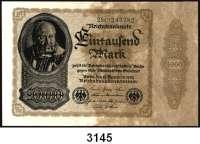 P A P I E R G E L D,Weimarer Republik 1000 Mark 15.12.1922.  Firmendruck.