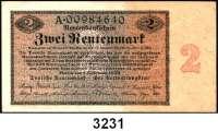 P A P I E R G E L D,R E N T E N B A N K 2 Rentenmark 1.11.1923.  Serie: A.  Ros. DEU-200.