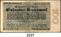 P A P I E R G E L D,R E N T E N B A N K 100 Rentenmark 1.11.1923.  Serie: A.  Ros. DEU-204.  145x77mm.