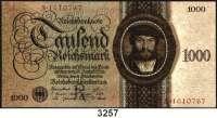 P A P I E R G E L D,R E I C H S B A N K 1000 Reichsmark 11.10.1924.  R/A.  Ros. DEU-178 a.