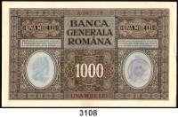 P A P I E R G E L D,I.  W E L T K R I E G Rumänien 1916 - 191825 Bani bis 1000 Lei o.D.(29.1.1917-10.6.1920).  Ros. EWK-7 a, b, 8 a, b, 9 a, b, 10, 11 b. 12, 13, 14 a, c.  LOT 12 Scheine.