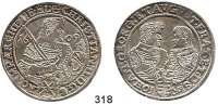 Deutsche Münzen und Medaillen,Sachsen Christian II., Johann Georg und August 1591 - 1611Taler 1609 HR, Dresden.  29,04 g.  Keilitz/Kahnt 228.  Dav.7566.