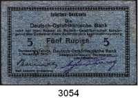 P A P I E R G E L D,D E U T S C H E      K O L O N I E N Deutsch-Ostafrika5 Rupien 1.11.1915.  Serie: E.  Ros. DOA-23 b.