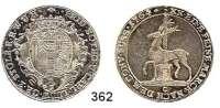 Deutsche Münzen und Medaillen,Stolberg Friedrich Botho und Karl Ludwig 1761 - 17682/3 Taler 1764 C ( mit T = Thiébaud).  13,87 g.  Friedrich 1988.