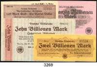 P A P I E R G E L D,Deutsche Reichsbahn Der Reichsverkehrsminister, Berlin 1923