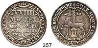 Deutsche Münzen und Medaillen,Stolberg Christoph Friedrich und Jost Christian 1704 - 173824 Mariengroschen 1707, Stolberg.  12,91 g.  Friederich 1492.  Dav. 1000.