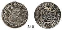 Deutsche Münzen und Medaillen,Sachsen August 1553 - 15861/4 Taler 1574 HB, Dresden.  7,25 g.  Keilitz/Kahnt 96.