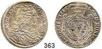 Deutsche Münzen und Medaillen,Württemberg Karl Alexander 1733 - 173730 Kreuzer 1735 FB.  7,46 g.  Ebner 63.  KR 199.