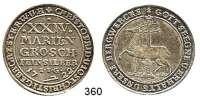 Deutsche Münzen und Medaillen,Stolberg Christoph Friedrich und Jost Christian 1704 - 173824 Mariengroschen 1722, Stolberg.  12,90 g.  Friederich 1650/51.  Dav. 1000.