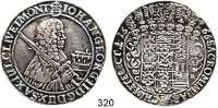 Deutsche Münzen und Medaillen,Sachsen Johann Georg II. 1656 - 1680Erbländischer Taler 1666, Dresden.  29 g.  Clauss/Kahnt 388.  Dav. 7617.