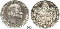 Deutsche Münzen und Medaillen,Preußen, Königreich Friedrich Wilhelm IV. 1840 - 1861Doppeltaler 1851 A, Berlin.  Kahnt 382.  Thun 258.  AKS 69.  Jg. 74.  Dav. 771.