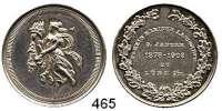 M E D A I L L E N,Landwirtschaft Lübz/Mecklenburg,  Silbermedaille 1903.  25 Jahrfeier Verein Kleiner Landwirte.  30,8 mm.  10,95 g.