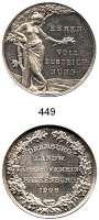 M E D A I L L E N,Landwirtschaft Falkenburg/Pommern,  Silbermedaille 1906.  Dramburg. Landw. Kreis-Verein.  Ehrenvolle Auszeichnung.  39,3 mm.  22,91 g.