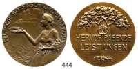 M E D A I L L E N,Landwirtschaft Coburg,  Bronzemedaille 1929.  Deutsche Rosenschau.  Für hervorragende Leistungen.  45,4 mm.  33,35 g.