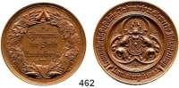 M E D A I L L E N,Landwirtschaft Landsberg/Warthe,  Bronzemedaille 1883 (W. Mayer, Stuttgart).  Landwirtschaftliche Industrie- und Gewerbe Ausstellung.  Ehrenpreis der Stadt.  39,2 mm.  31,02 g.
