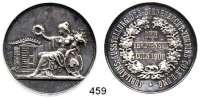 M E D A I L L E N,Landwirtschaft Köln,  Silbermedaille 1906 (Oertel, Berlin).  Jubiläums-Ausstellung des Bienenzucht-Verein Cöln und Umgebung.  Dem Verdienste.  39,3 mm.  21,72 g.
