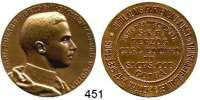 M E D A I L L E N,Landwirtschaft Gotha,  Bronzemedaille 1905.  Jubiläums-Gartenbau-Ausstellung des thüringischen Gartenbauvereins.  35,2 mm.  19,45 g.
