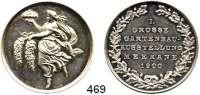 M E D A I L L E N,Landwirtschaft Meerane,  Silbermedaille 1900.  I. Große Gartenbau Ausstellung.  35,5 mm.  16,3 g.