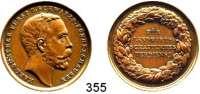 Deutsche Münzen und Medaillen,Schwarzburg - Sondershausen Karl Günther 1880 - 1909Bronzemedaille o.J.  Medaille für landwirtschaftliches Verdienst.  Kopf Fürst Karl Günther n. r. / 4 Textzeilen im Kranz.  30,7 mm.  12,57 g.