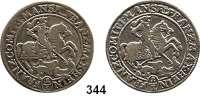 Deutsche Münzen und Medaillen,Mansfeld - Vorderort - Bornstedt Franz Maximilian und Heinrich Franz 1644 - 1692 1/3 Taler 1672 AB-K.  Tornau 311.  LOT 2 Stück.