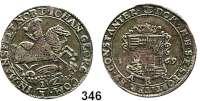 Deutsche Münzen und Medaillen,Mansfeld - Vorderort - Eisleben Johann Georg III. (1647) 1663 - 1710 1/3 Taler 1669 ABK.  9,69 g.  Tornau 491.