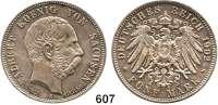R E I C H S M Ü N Z E N,Sachsen, Königreich Albert 1873 - 1902 5 Mark 1902.  Auf seinen Tod.