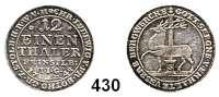 Deutsche Münzen und Medaillen,Stolberg Christoph Ludwig und Friedrich Botho 1739 - 1761 1/12 Taler 1748 I.I.G., Stolberg  1,61 g.  Friederich 1894.