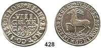 Deutsche Münzen und Medaillen,Stolberg Heinrich Ernst I. zu Wernigerode 1638 - 1672 8 Gute Groschen 1671 I B, .  9,31 g.  Friederich 1214ff.