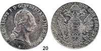 Österreich - Ungarn,Habsburg - Lothringen Franz I. (1792) 1806 - 1835Konventionstaler 1820 A, Wien.  Frühwald 150.  Kahnt 338.  Jl. 190.  Dav. 7.