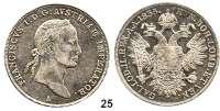 Österreich - Ungarn,Habsburg - Lothringen Franz I. (1792) 1806 - 1835Konventionstaler 1835 A, Wien.  Frühwald 204.  Kahnt 341.  Jl. 215.  Dav. 11.