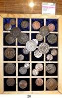 Österreich - Ungarn,Habsburg - Lothringen Franz I. (1792) 1806 - 1835LOT von 30 meist verschiedenen Kupferkleinmünzen zwischen 1807 bis 1816.  Von 1/4 Kreuzer bis 30 Kreuzer.