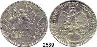 AUSLÄNDISCHE MÜNZEN,Mexiko Estados Unidos Mexicanos 1 Peso 1911.  100. Jahrestag des Mexikanischen Unabhängigkeitskrieges