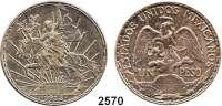 AUSLÄNDISCHE MÜNZEN,Mexiko Estados Unidos Mexicanos 1 Peso 1913.  100. Jahrestag des Mexikanischen Unabhängigkeitskrieges