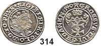 Deutsche Münzen und Medaillen,Danzig, Stadt Sigismund I. 1506 - 1548 Groschen 1540.  1,91 g.  Dutkowski/Suchanek 64 b.