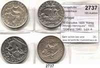 AUSLÄNDISCHE MÜNZEN,Portugal Republik seit 1910 10 Escudos 1928
