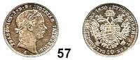 Österreich - Ungarn,Habsburg - Lothringen Franz Josef I. 1848 - 191610 Kreuzer 1854 A, Wien.  Frühwald 1586.