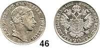 Österreich - Ungarn,Habsburg - Lothringen Franz Josef I. 1848 - 191620 Kreuzer 1852 C, Prag.  Frühwald 1562.