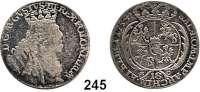 Deutsche Münzen und Medaillen,Preußen, Königreich Friedrich II. der Große 1740 - 1786 Preußische Münzen im Namen Friedrich August II. von Sachsen.  18 Gröscher  1754 EC, Leipzig o. a..  5,43 g.  Kluge K 19.2.  Olding 479.  Kahnt 687.