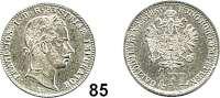 Österreich - Ungarn,Habsburg - Lothringen Franz Josef I. 1848 - 19161/4 Gulden 1860 V, Venedig.  Frühwald 1532.