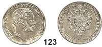 Österreich - Ungarn,Habsburg - Lothringen Franz Josef I. 1848 - 19161/4 Gulden 1868 A, Wien.  Frühwald 1549.