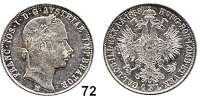 Österreich - Ungarn,Habsburg - Lothringen Franz Josef I. 1848 - 1916Gulden 1858 M, Mailand  Frühwald 1449.