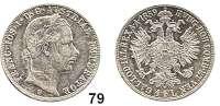 Österreich - Ungarn,Habsburg - Lothringen Franz Josef I. 1848 - 1916Gulden 1859 V, Venedig.  Frühwald 1455.