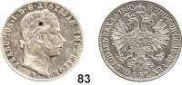 Österreich - Ungarn,Habsburg - Lothringen Franz Josef I. 1848 - 1916Gulden 1860 V, Venedig  Frühwald 1459.