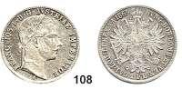 Österreich - Ungarn,Habsburg - Lothringen Franz Josef I. 1848 - 1916Gulden 1865 A, Wien  Frühwald 1476.