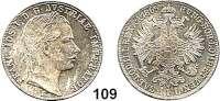 Österreich - Ungarn,Habsburg - Lothringen Franz Josef I. 1848 - 1916Gulden 1865 E, Karlsburg  Frühwald 1478.